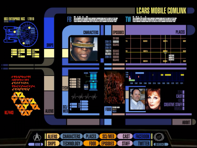 The 24th century is now official star trek padd app launched - Lcars ipad app ...